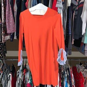 Crown & Ivy Salmon Shift Dress